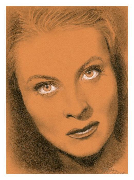 Michèle Morgan by mulderxf